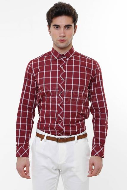 WSS Wessi Chemise en coton à carreaux