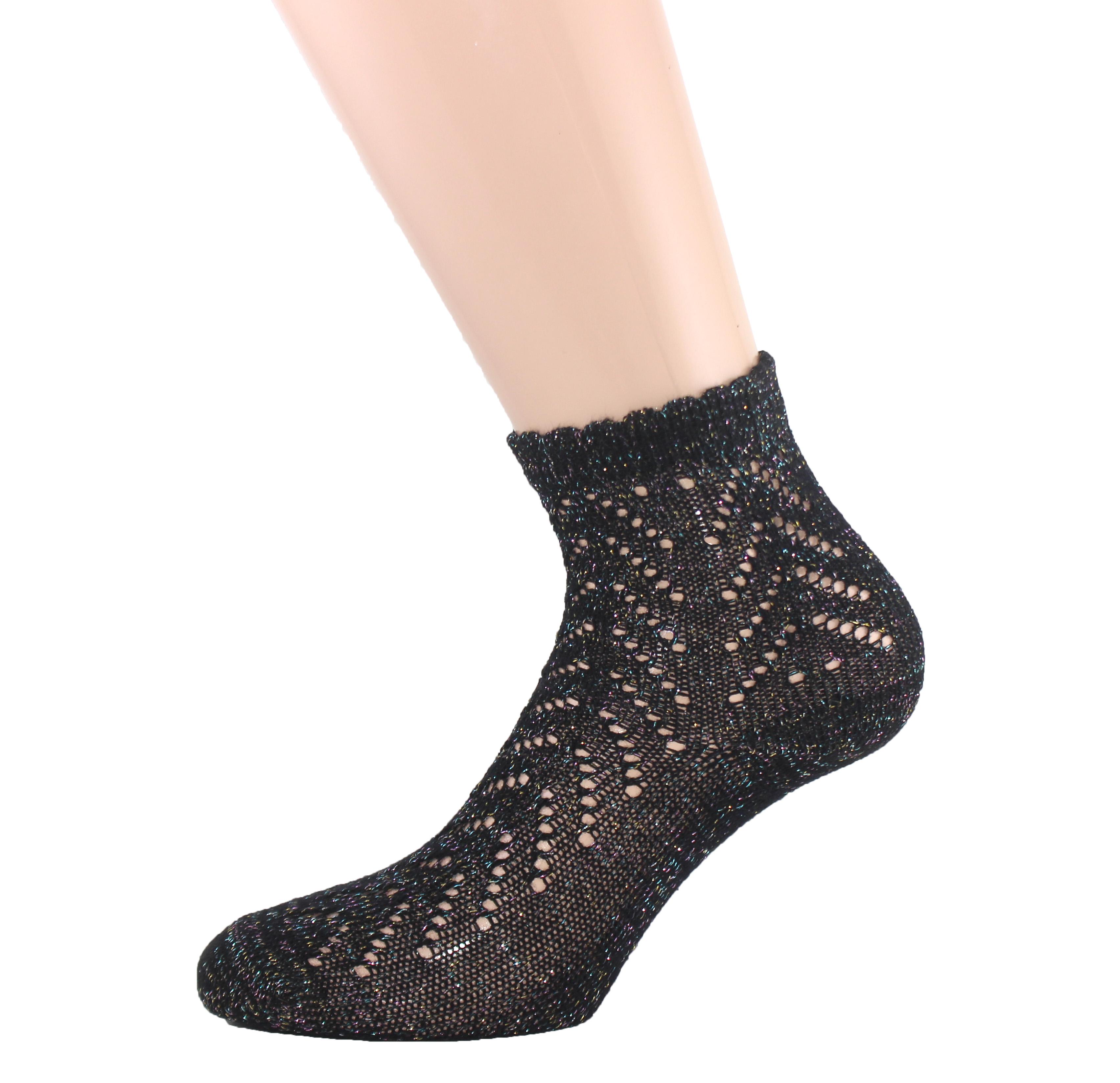 Sparkled Pelerin Women Sock