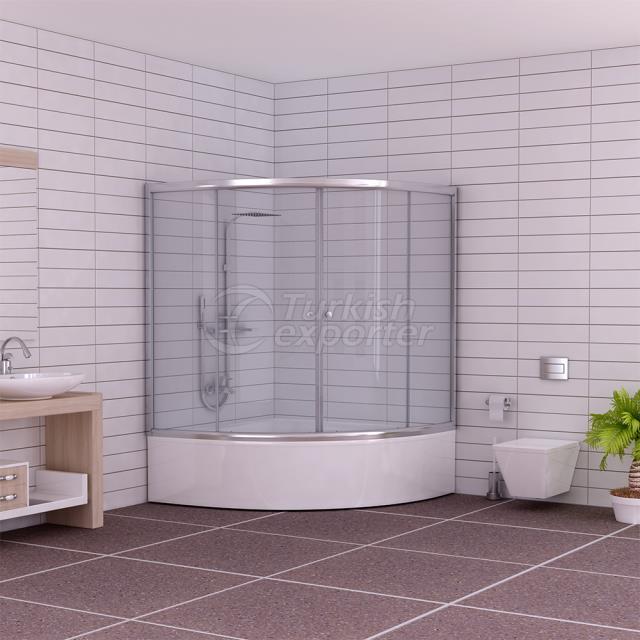Oval Shower Cabin Beyza
