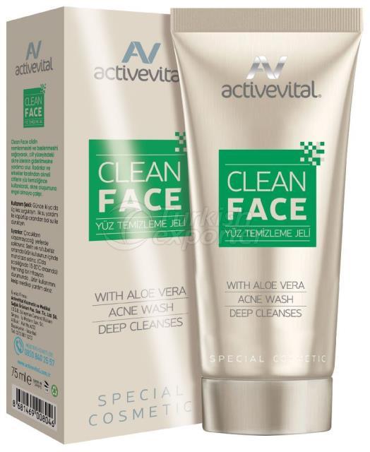 Tube de nettoyage du visage