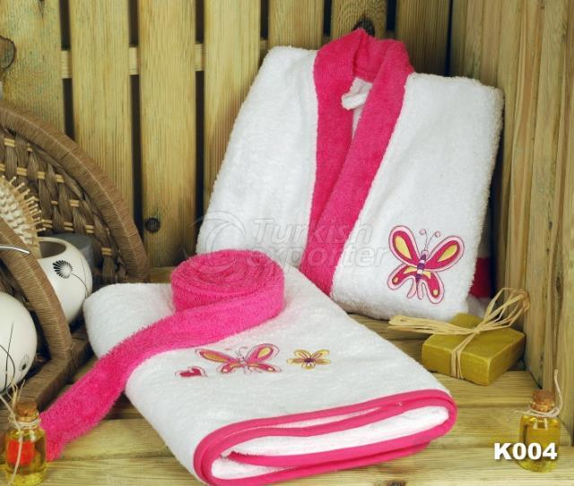 Bebek Bornoz Takımı K004