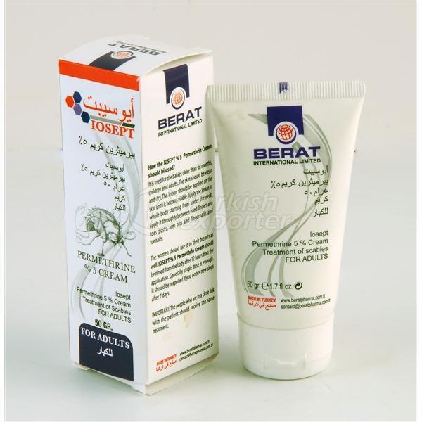 Permethrin 5 % Cream 50 gr