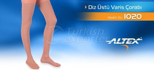 Diz Üstü Varis Çorabı