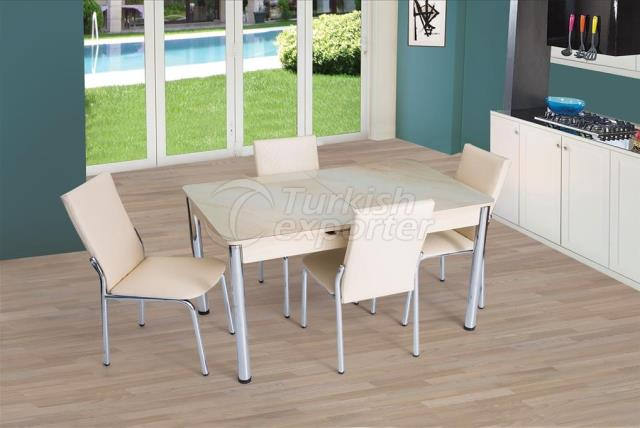 Conjunto de mesa y silla