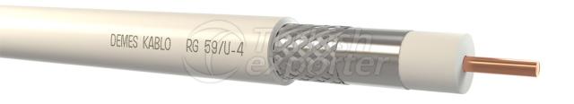 Coaxial Cables RG 59 U-4