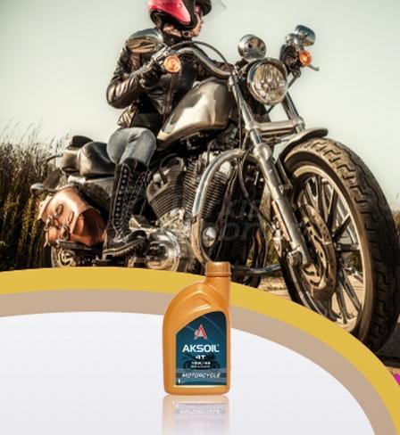 AKSOIL MOTORCYCLE 4T 10W/40