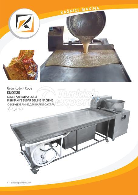 Pishmaniye sugar boiling machine