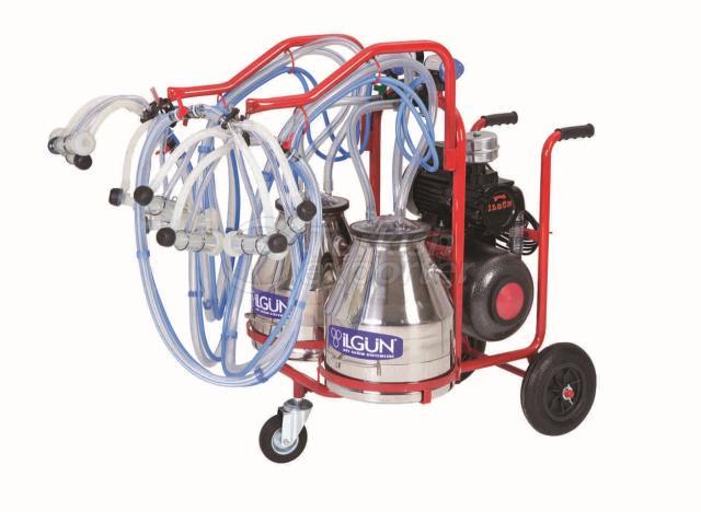 Portable Goat Milking Trolley