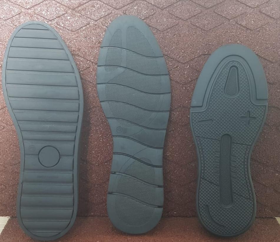 100% Rubber Footwera soles