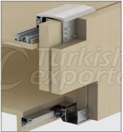 Adjustable Sliding Wardrobe System M02 8230 SFT