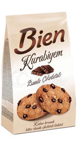Bien Kurabiyem Cookies with Chocolate Drops