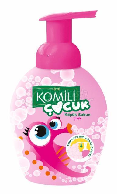 Jabón de espuma Komili Kids