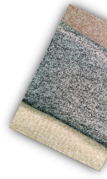 Knitted Intermingled Yarn Fabric