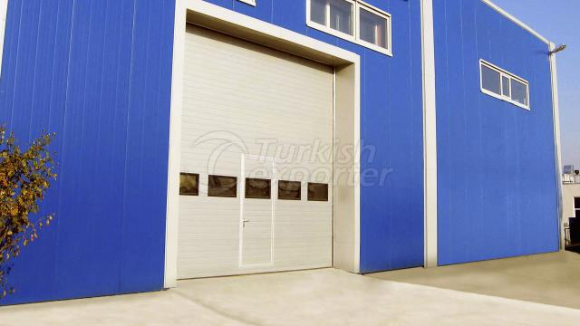 Sectional Industrial Door