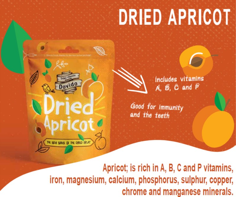 Dried Apricot 200g Doypack