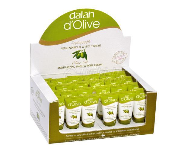 Olive Oil Hand - Body Cream Display Box