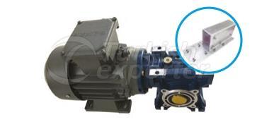Roll-Up Side Gearbox Motor