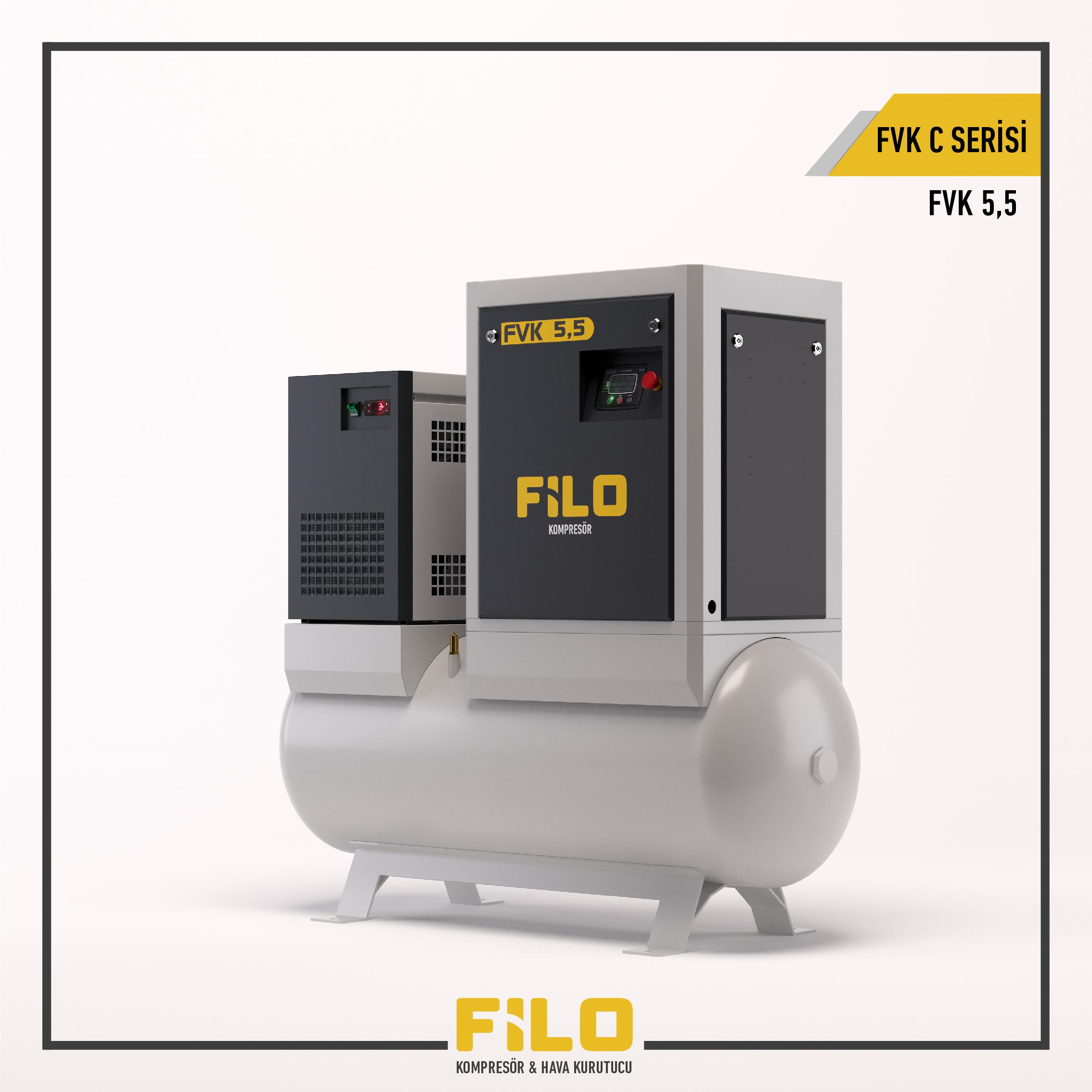 Screw Compressor  FVK C Series