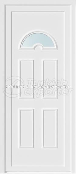 Panneaux de porte en PVC thermoformé 30001_C1