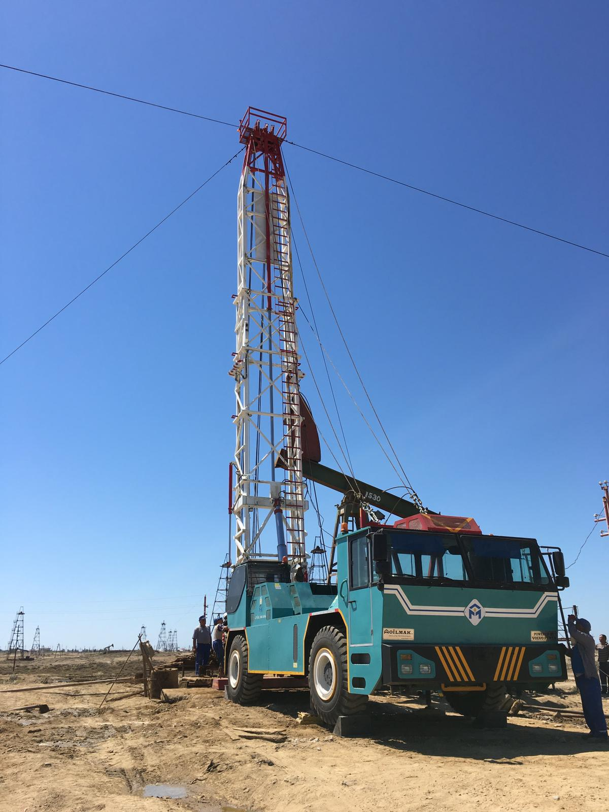 Mobile Workover Rig
