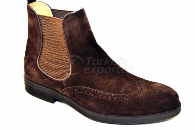 4644 Brown Suede Shoes