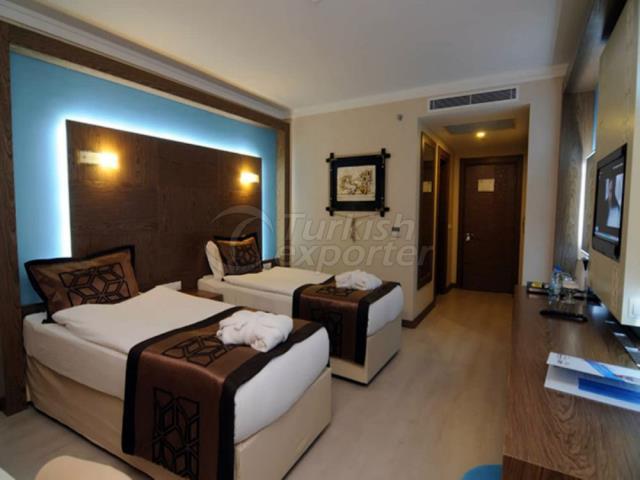 Hotel Concept-Single Room Furnishing