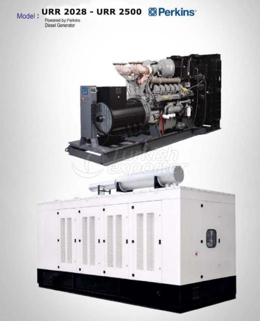 Diesel Generator - URR 2028 - URR 2500