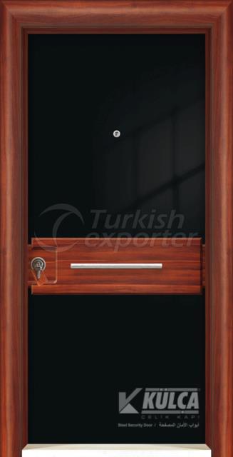 D-2002 ( PVC STEEL DOOR )