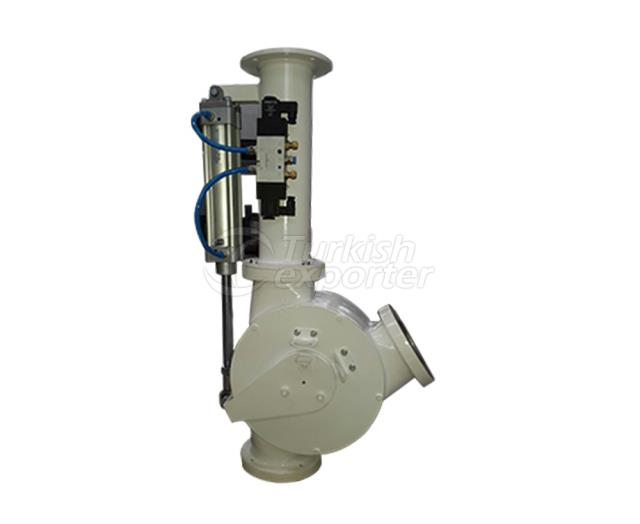 Directional Valve With Pneumatic Piston