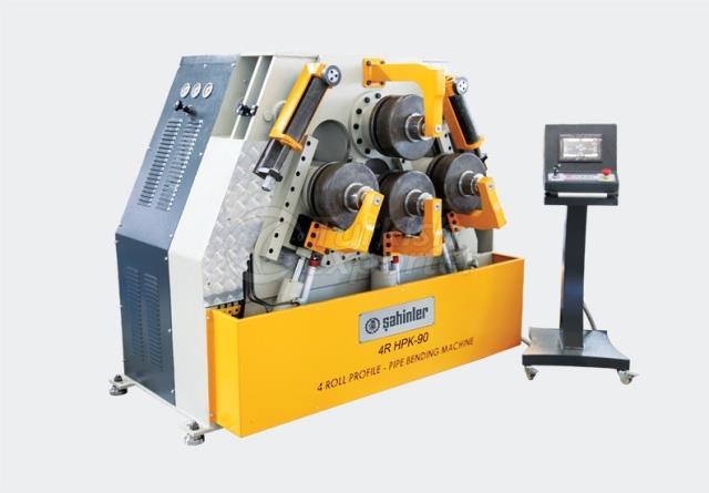 Máquina de dobrar perfis e secções - 4R HPK 90