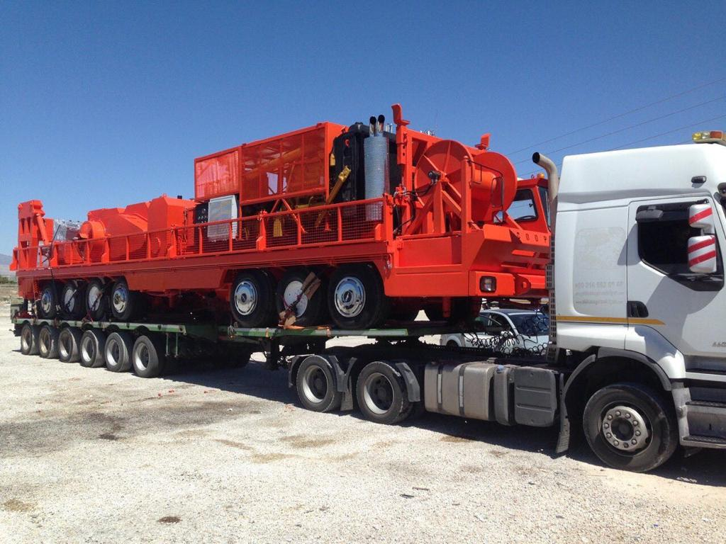 1000 - 3000 Meter Mobile Drilling Rig