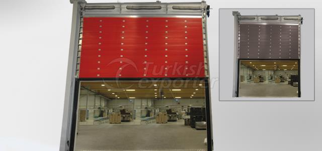 Sectional Fire Rated Door