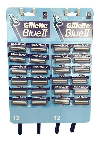gillette blue2 maximum  cartridges -count 20
