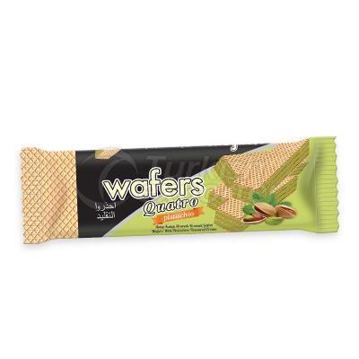 Gofret  -Wafers Quatro Antep Fıstığı