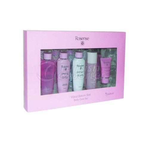 Care Set with Rose Oil Extract