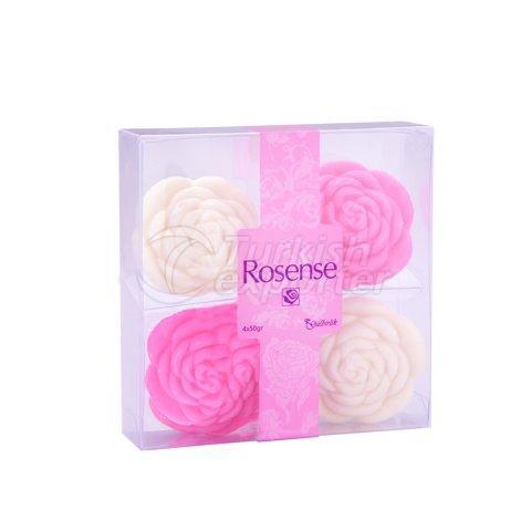 мыло с экстрактом розы