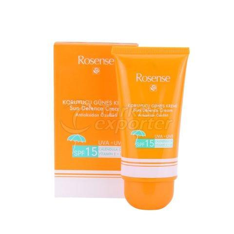 Sun Cream with Rose Oil Extract