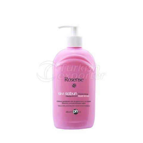 Liquid Soap with Rose Oil Extract