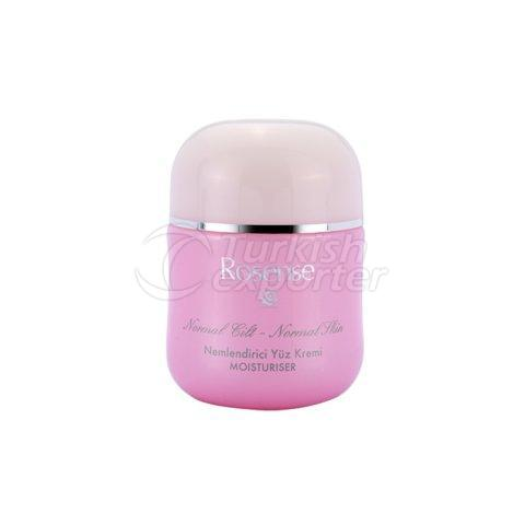 Face Cream with Rose Oil Extract