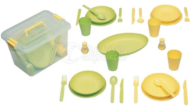 Family Picnic Set for 4 Persons