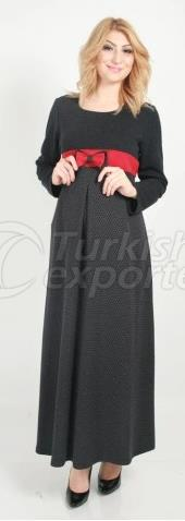 Bow Long Sleeve Maternity Dresses
