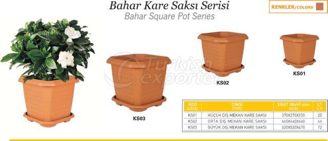 Pot Square de Bahar