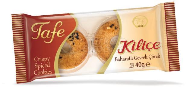 Kilice Crispy Spiced Cookies 40g 243