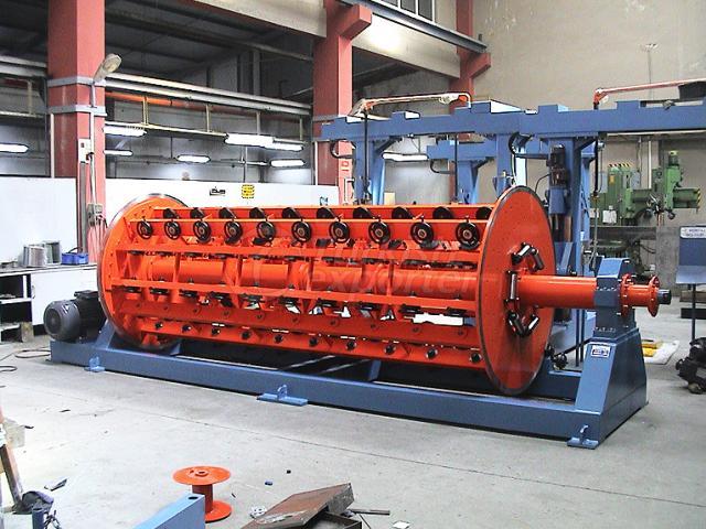 Cable Machinery Rigid Strander