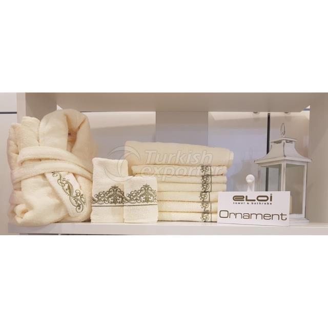 Текстиль для ванной - Орнамент