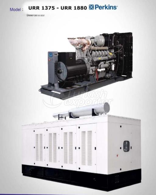 Diesel Generator - URR 1375 - URR 1880