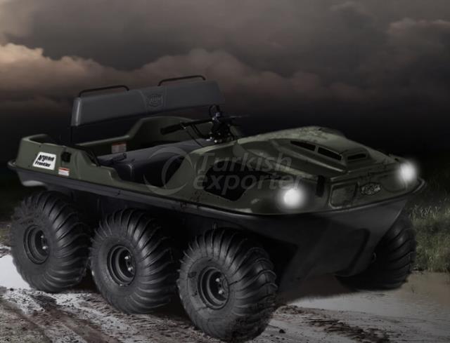 Argo Amphibious Vehicles Frontier 6x6