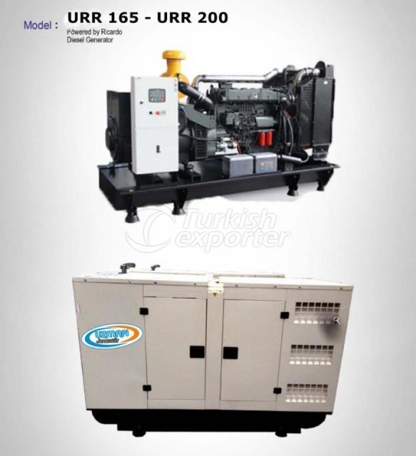 Diesel Generator - URR 165 - URR 200