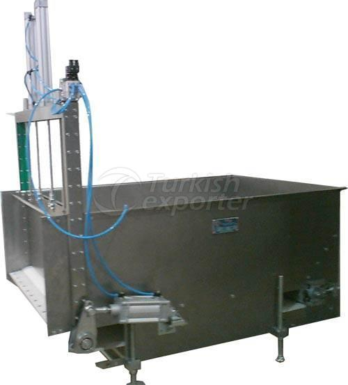 Dough Feeding Hopper and Feeding Belt VM.031