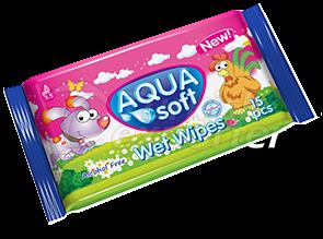 Aquasoft Wet Wipes